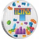 35. výročí legendární počitačové hry Tetris na originální minci