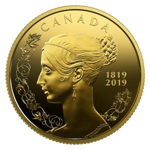200. výročí narození královny Viktorie na atraktivní zlaté minci