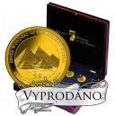 7 antických divů světa - unikátní sada zlatých mincí za atraktivní cenu 9890 Kč!