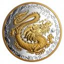 Čínské znamení draka na vysoce atraktivní a limitované minci