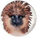 Filipínský orel - majestátní symbol deštných pralesů na atraktivní stříbrné minci s vysokým reliéfem