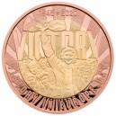 75. výročí konce II. světové války na exkluzivní a limitované zlaté minci