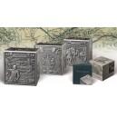 Legendární cesty Marca Pola na stříbrné minci kubického tvaru - poprvé v historii světové numizmatiky
