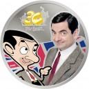 30. výročí legendárního Mr. Beana na atraktivní stříbrné kolorované minci