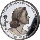 Grace Kellyová - legendární herečka a monacká kněžna na exkluzivní stříbrné minci